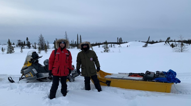 Permarsenic team in the Canadian Sub-Arctic