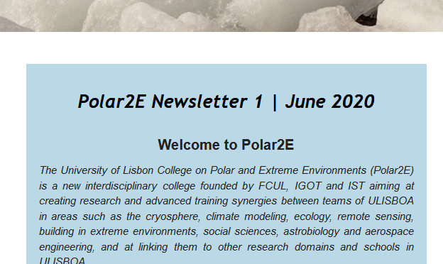newsletter 1 | June 2020 is now available